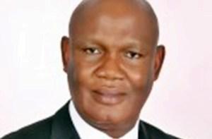 Hon. Ephraim Inyang, Commissioner for Works, Akwa Ibom State